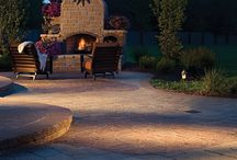 Outdoor Fireplaces / Brown's Pools & Spas can design any outdoor fireplace, firepit, grillpit of your choice.