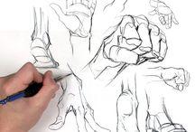 Art School - Hands