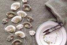 Fiori di maglia o stoffa
