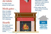 Fire & Heating Safety / Fireplace Safety Tips