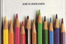 pintar con lápices de colores