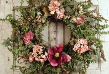 Wreaths / The old fashioned art of wreath making...