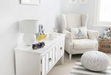 Grey And White Accent Chair / Grey And White Accent Chair