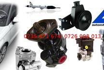 Service auto / Serviciile oferite includ reparația casetelor de direcție, reparația pompelor servodirecție, importul și distribuția casetelor de direcție și pompelor servodirecție recondiționate.