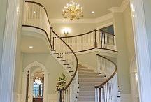 Grand foyers... Welcome to my home !