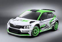 Novo Skoda Fabia R5 / Skoda no Rally