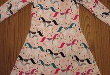 Girl knit dresses