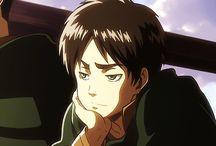 Eren Jäeger / A guy who wants to kill every titans, but he is titan too... Shingeki no Kyojin
