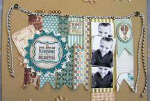 Scrapbooking Ideas / by Jill Tool