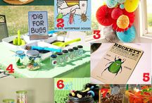 Bug Party Ideas / by Mimi Wagner