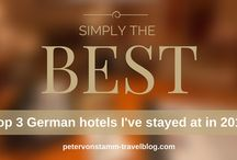 Simply the best German hotels I'v stayed at in 2015