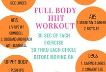 circuit workouts/HIIT / circuit workouts, cardio, and HIIT with minimal equipment