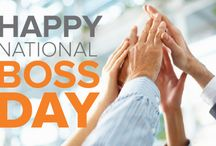 National Boss Day / Happy National Boss's Day on October 16 to all you bosses out there! Here's some humor to make your day brighter.