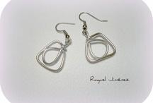 Aluminio / wire / by Pilar Orenes HandMade Jewelry