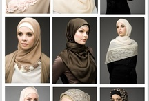 Hijab Styles / Hijab Styles and Tutorials to help make life easier:) / by H. Shamim