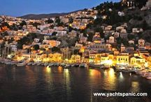 Yacht Charter Greece / Here are some ideas for sailing in Greece / by Paris Papadeas