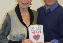 My co-author, Louise Hay / Dedicated to my co-author Louise Hay