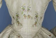 18th century: Backs in detail