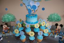Baby Micky Mouse Birthday Theme