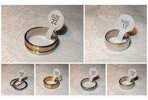 www.shannashop.nl  6 / We hebben een enorme collectie stalen ringen voor dames en heren. van maat 17 t/m 22. 1e kwaliteit