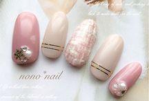 nail art romantic christmas