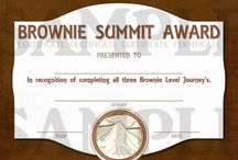 Brownie Girl Scouts / by Marsha Booth