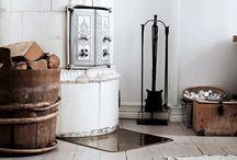 Tile stove
