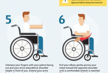 Exercise / Exercises and physical activities for the disabled.