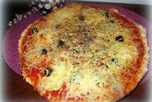 Pizza, tourte, quiche, tarte salée