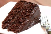 Chocolate bolo delicioso