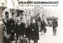 """Yom HaShoah: Everything is Forbidden to Us and Yet We Do Everything / Tonight, as the sun sets, Yom HaShoah (יום השואה), Holocaust Day, begins.  Here in Israel and around the world, the Jewish People face the memory and pain of the Holocaust and say, """"Never again.""""  And for many of us here at the ministry, it is very personal as we lost grandparents, aunts and uncles, who were gassed and then put in the ovens in Auschwitz.  And the family members who were not put to death right away were in slave labor camps becoming living skeletons."""
