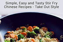 Recetas que cocinar comida china