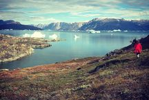 My Photography Afternoon Hike in Greenland. Loved this afternoon exploring the Greenland terrain and picking wild blueberries awhile looking for Musk Ox!