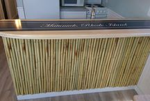 Surfboard counters