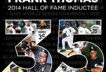 #BigHurtHOF / Congratulations to Hall of Fame inductee Frank Thomas! / by Chicago White Sox
