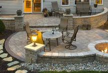 Outdoor patio ideas / ideas for our backyard patio