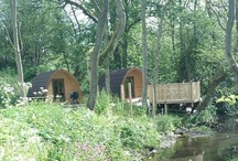 Camping pods in the UK / Go glamping! Our favourite camping pods, huts and lodges in the UK from Pitchup.com / by Pitchup.com