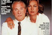 Jean Poiret  (1926-1992) / De son vrai nom Jean Gustave Poiré Deux mariages et un divorce  : Françoise Dorin et Caroline Cellier (de 1989 à 1992) Deux enfants : Sylvie (avec Françoise) Nicolas (avec Caroline)