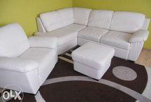 sofa kanapa naroznikowa eko skura