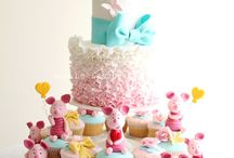 Piglet birthday cake for karin