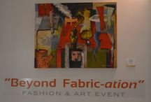 """BEYOND FABRIC-ATION"" / A Fashion & Art Event - This is a first in South Africa where we have such collaboration between creative's in the fields of Art, Fashion and Textile design"