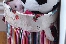 Fabric bucket!