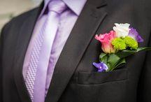 Boutonnières mariage