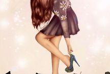 ilustrații ❤