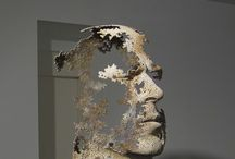 Marti moreno inspired sculptures