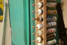 caulking storage