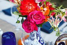 Inspiración bodas con color