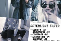 《Afterlight filters》