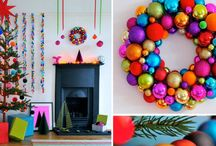 Office Winter Decor (Fun and Colorful) / by Erica Soto