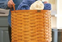 Laundry Baskets / by Peterboro Basket Company